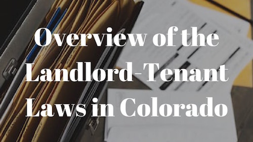 colorado-landlord-tenant-laws-overview