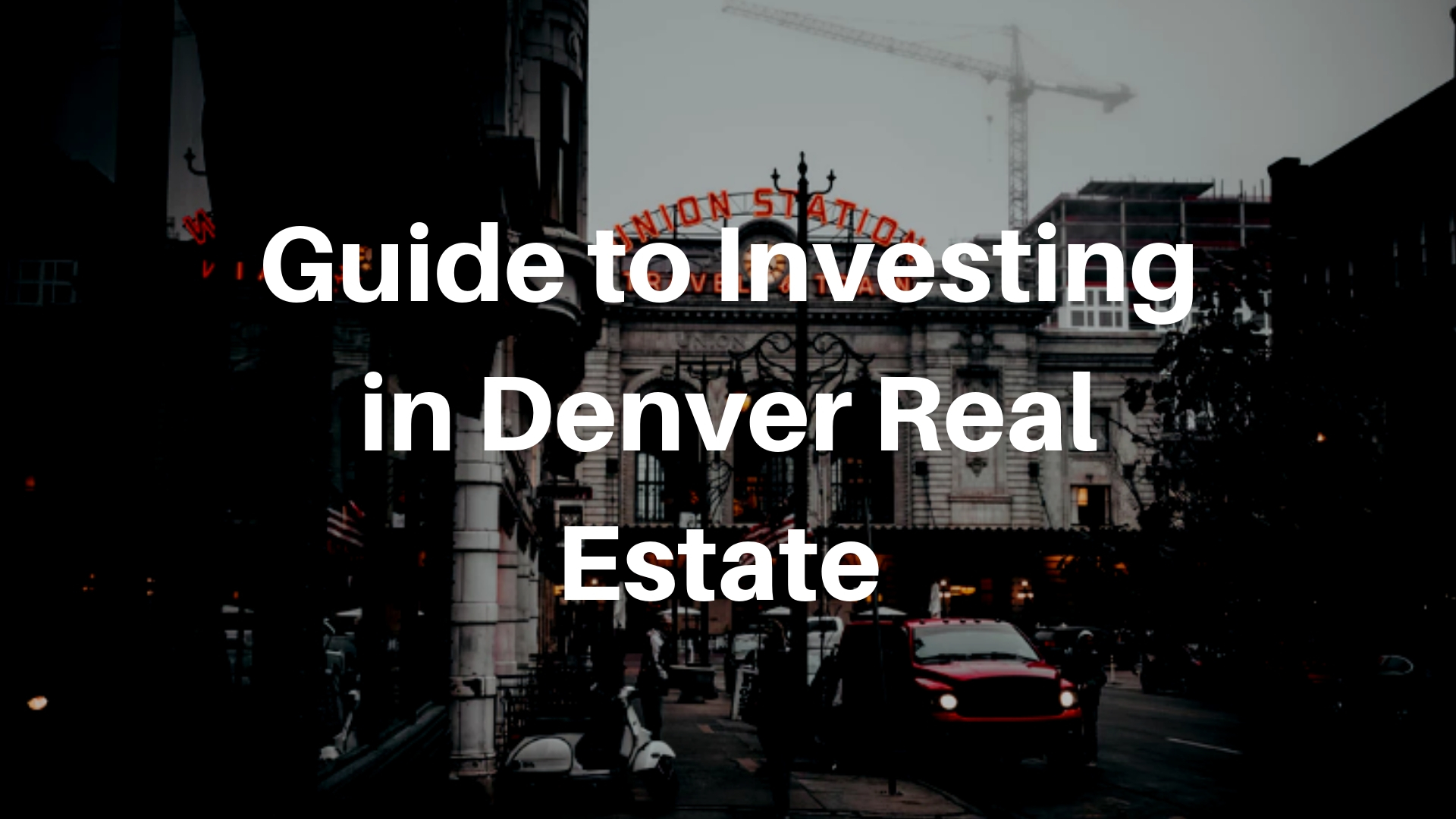 Buying Real Estate in Colorado